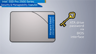 Security, Manageability—Intel® SSD Pro 2500 Series